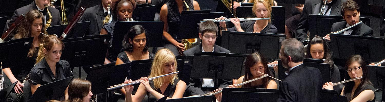 Wind Ensemble Performing