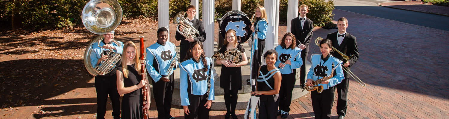 Group Photo of Marching Band members